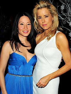 Lucy Liu Turns 40, Gets Humanitarian Award | Lucy Liu, Tea Leoni