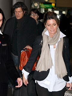 Shania Twain Arrives in New York with Surprising Companion