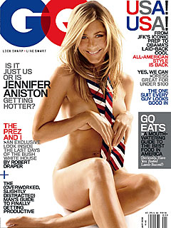 Jennifer Aniston Strips Down for GQ Cover