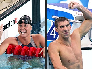 Amanda Beard Denies Dating Michael Phelps – But Says He's Not 'Nasty'