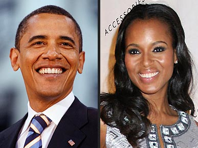 Kerry Washington Offers Obama Her 'First Dog' Suggestion