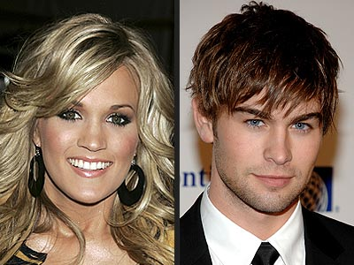 She's been linked to Gossip Girl star Chace Crawford since October. Where were they first publicly seen together?