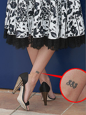 Celebrity Tattoos: This entry was posted on Monday, September 29th,
