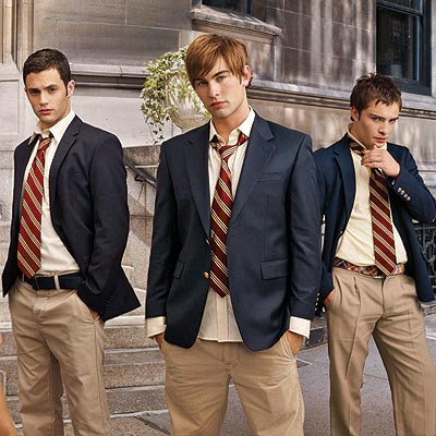 THE GOSSIP GUYS photo Chace Crawford Ed Westwick Penn Badgley