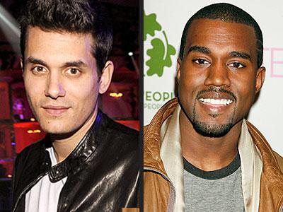 THE MUSIC MEN photo | John Mayer, Kanye West