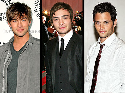 THE 'GOSSIP' GUYS photo | Chace Crawford, Ed Westwick, Penn Badgley