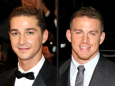 THE RISING STARS photo | Channing Tatum, Shia LaBeouf