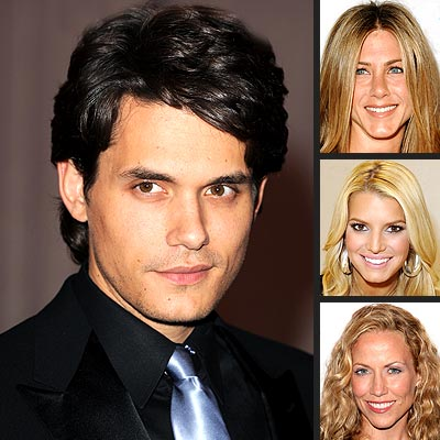 JOHN MAYER photo | Jennifer Aniston, Jessica Simpson, John Mayer