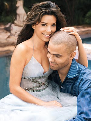 EVA LONGORIA & TONY PARKER photo | Eva Longoria, Tony Parker
