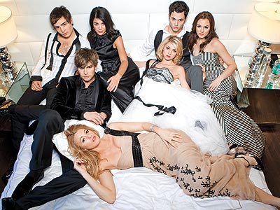 THE GOSSIP GIRL CAST photo | Gossip Girl, Blake Lively, Chace Crawford, Ed Westwick, Leighton Meester, Penn Badgley, Taylor Momsen