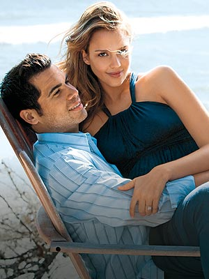 JESSICA ALBA & CASH WARREN photo | Cash Warren, Jessica Alba