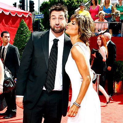 READY TO PUCKER photo | Joey Fatone, Lisa Rinna
