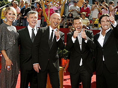 HOSTS WITH THE MOST photo | Heidi Klum, Howie Mandel, Jeff Probst, Ryan Seacrest, Tom Bergeron