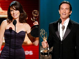 Tina Fey and Jeff Probst Win Emmy Awards