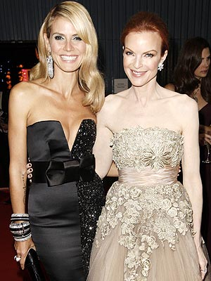 GLAM SQUAD photo | Heidi Klum, Marcia Cross