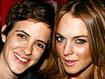Emmys '08 Party-Hopping! | Lindsay Lohan, Samantha Ronson