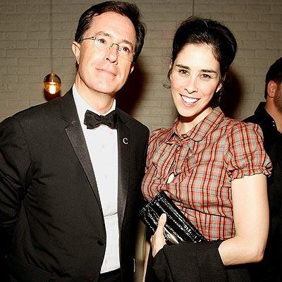 PARTY 'REPORT' photo | Sarah Silverman, Stephen Colbert