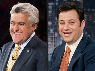 Jay Leno, Jimmy Kimmel Swap HotSeats