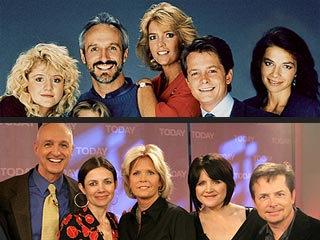 family ties then now