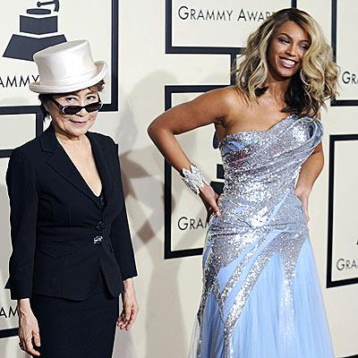 YOKO ONO & BEYONCÉ photo | Beyonce Knowles