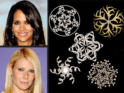 BRING ON THE BLING photo | Gwyneth Paltrow, Halle Berry