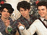 Ho Ho Ho! The Jonas Brothers Gather Round the Tree!