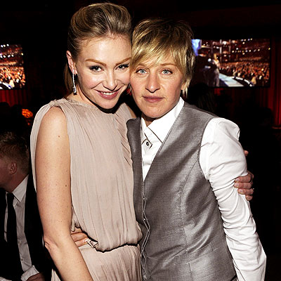 ELLEN DEGENERES & PORTIA DE ROSSI photo | Ellen DeGeneres, Portia de Rossi