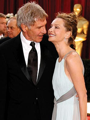 HARRISON FORD & CALISTA FLOCKHART photo | Calista Flockhart, Harrison Ford