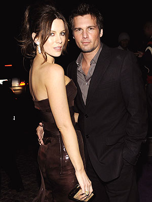 KATE BECKINSALE & LEN WISEMAN photo | Kate Beckinsale