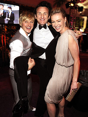 PICK-UP ARTIST photo | Ellen DeGeneres, Portia de Rossi, Sean Penn