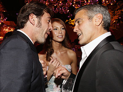 HOT TOPIC photo | George Clooney, Javier Bardem