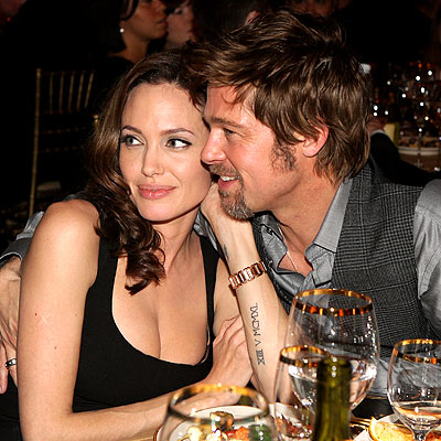 MAKE-OUT SESSION photo | Angelina Jolie, Brad Pitt