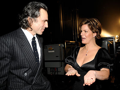 BACKSTAGE BANTER photo | Daniel Day-Lewis, Marcia Gay Harden