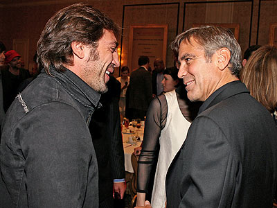 BUSINESS LUNCH photo | George Clooney, Javier Bardem
