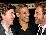 Stars Get the (Oscar) Party Started! | Casey Affleck, George Clooney, Javier Bardem