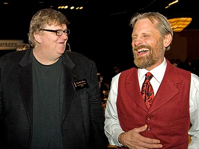 VESTED INTEREST photo | Michael Moore, Viggo Mortensen