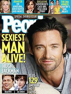 Hugh Jackman May Work Sexiest Man Title Into Oscar Act| Oscars 2009, Hugh Jackman