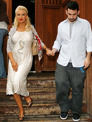 Christina Aguilera & Jordan Bratman photo | Christina Aguilera
