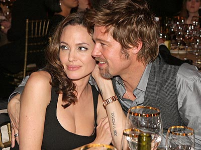 Brad Pitt & Angelina Jolie photo | Angelina Jolie, Brad Pitt