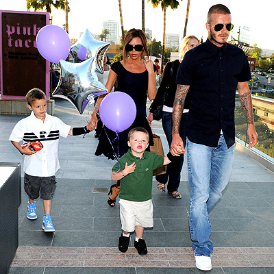 ARRIBA, ARRIBA! photo | David Beckham, Victoria Beckham