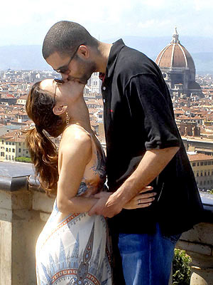 EVA & TONY: FLORENCE photo | Eva Longoria, Tony Parker