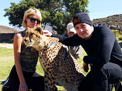 PARIS & BENJI: CAPE TOWN photo | Benji Madden, Paris Hilton