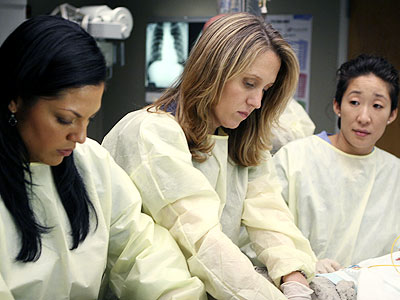 BROOKE SMITH ON GREY'S ANATOMY photo | Brooke Smith, Sandra Oh, Sara Ramirez