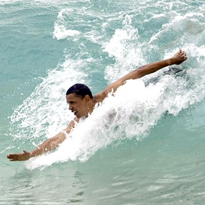 WAVE RIDER photo | Barack Obama