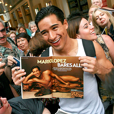 GRIN AND BARE IT photo | Mario Lopez