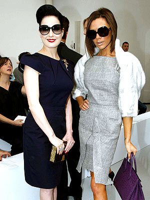 TOTAL POSERS photo | Dita Von Teese, Victoria Beckham