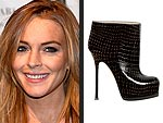 The Stars' Highest Heels of the Year | Lindsay Lohan