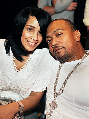 TIMBALAND & MONIQUE photo | Timbaland