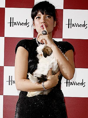 DOG WHISPERER photo | Lily Allen