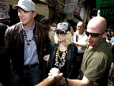 TOUR GUY photo | Guy Ritchie, Madonna